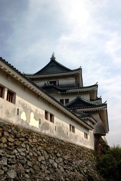 和歌山城と本マグロ