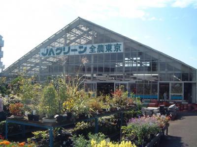 お花を買いに昭島のJA全農東京へ