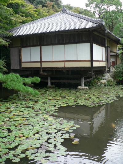 日本の旅 関西を歩く 兵庫県・龍野(たつの)の聚遠亭(しゅうえんてい)と龍野神社