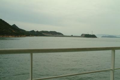 里海画報~松栄丸から見る風景08年10月14日朝
