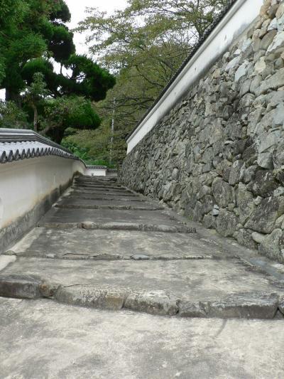日本の旅 関西を歩く 兵庫県・龍野(たつの)城跡の光景
