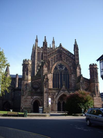 ヘレフォード (Hereford) 大聖堂 見学 2008年10月