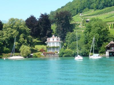 初★スイスしてきました!? トゥーン湖遊覧船とちょこっとベルン