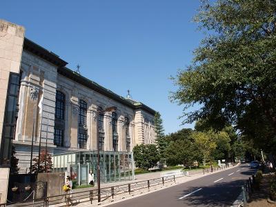 芸術 文化の秋 上野 国際子ども図書館付近