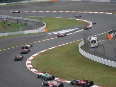 F1ジャパングランプリ観戦+江ノ島観光の旅 <2日目F1ジャパングランプリ>