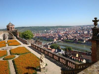 08ドイツの旅:世界遺産の街ヴュルツブルク?マリエンベルク要塞