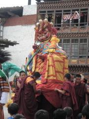 ブータン旅:ワンデュからパロ