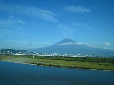 10月中旬の富士山