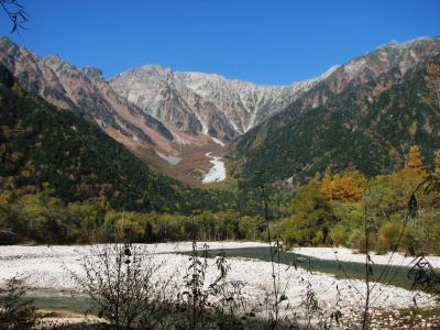 晩秋の信州(3) 上高地:岳沢登山 ~2008年10月~