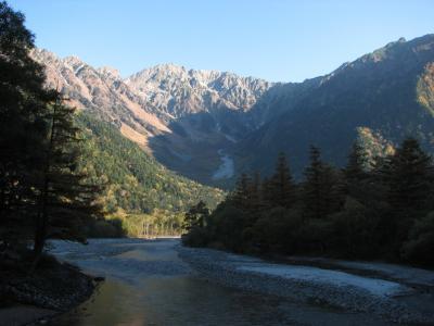 晩秋の信州(4) 上高地 ~2008年10月~