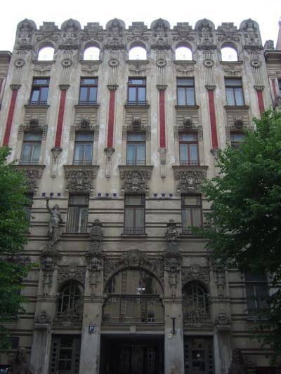 リガ アルベルタ通りのアール・ヌーヴォー建築