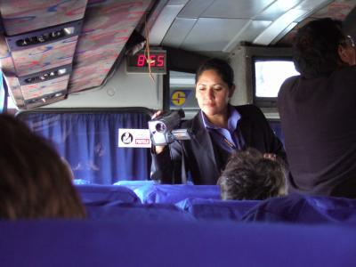 アレキパからプーノへバス移動