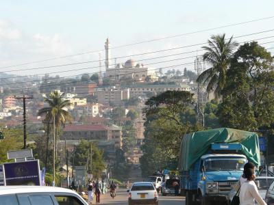 ウガンダ一週間4 カンパラ市街ウォーキング
