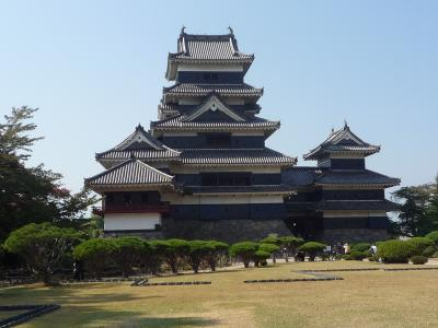 松本1泊旅行 松本城