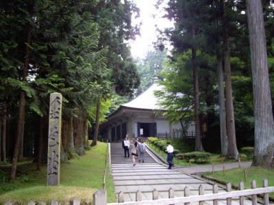 2008年7月東北旅1日目・松島~中尊寺