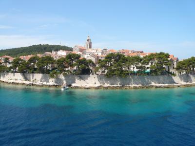 クロアチア+S,i ?コルチュラ島