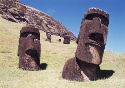 タヒチ・イースター島の旅(4)~イースター島3 ラノ・ララク~