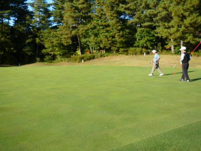 遠征ゴルフ:備前GCアウトコース