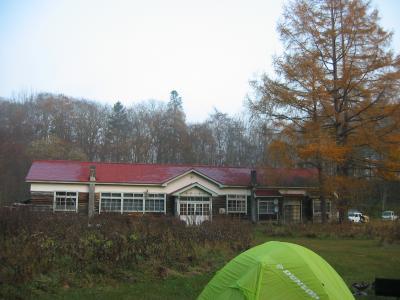 ちょっとあこがれていた霧里(ムリ)のキャンプ場