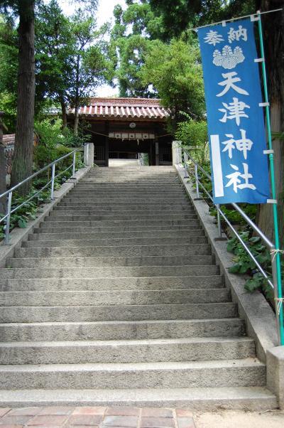 天津神社 ~ 備前焼だらけの神社