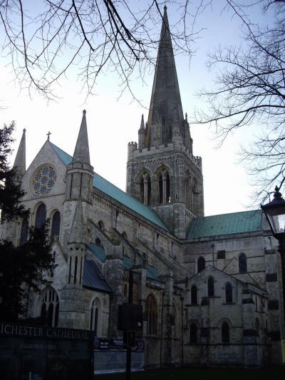 チチェスター (Chichester) 大聖堂 見学 2008年11月