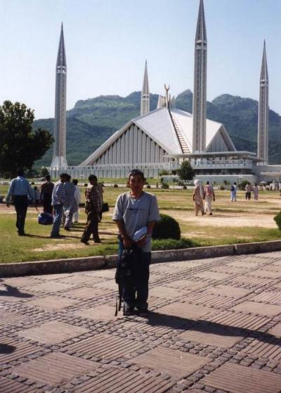 シャー・ファイサル・モスク@イスラマバード/パキスタン