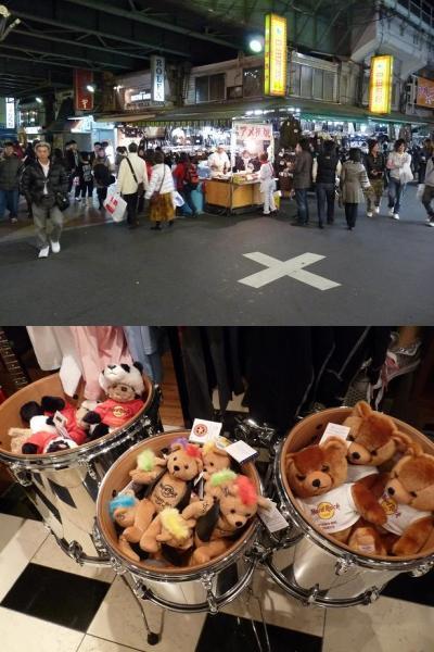 上野公園、アメ横散策とハードロックカフェUYENO-EKI  TOKYO(東京千葉、秋の2泊3日の旅?)