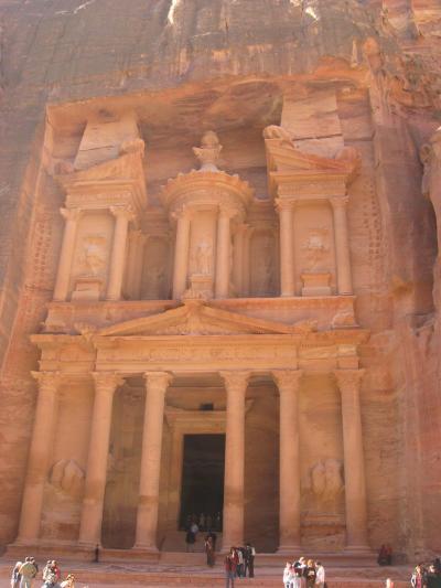 エジプト・ヨルダンの旅 2/2 ペトラ遺跡と死海編