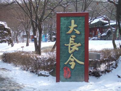 カンボジア・韓国旅行記【9】大長今テーマパーク
