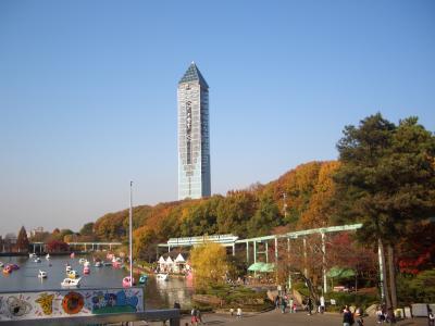 名古屋東山動植物園の紅葉散歩 (2)動植物園散策