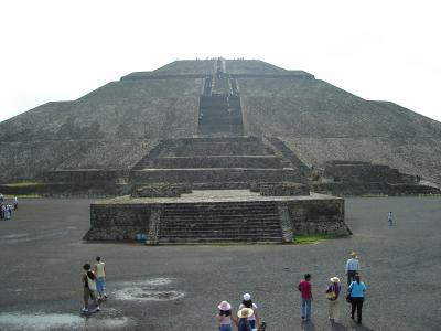 初ラテンアメリカ・メキシコへGO! テオティワカン