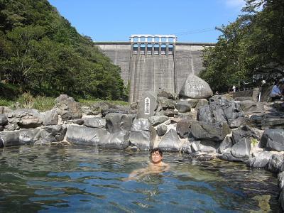 湯原温泉、奥津温泉(岡山県)。。。山陰温泉旅行(2007年10月)その1.。。