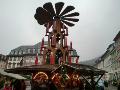 2008ドイツクリスマス市巡り?ハイデルベルク