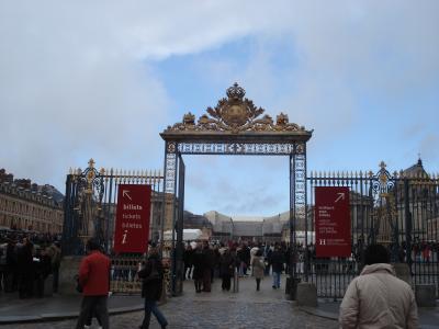 2007冬■ベルサイユ宮殿~庭園