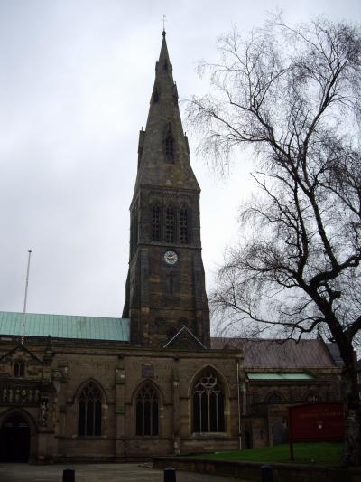 レスター (Leicester) 大聖堂 見学 2008年12月