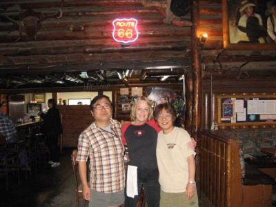 アメリカの旅(2008年GW)。。。ルート66「フラグスタフからウィリアムズ」