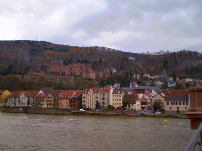ドイツクリスマス市を巡る旅  ハイデルベルク