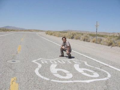 アメリカの旅(2008年GW)。。。ルート66「オートマンからニードルズ」