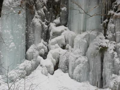 氷と雪の。。。奥鬼怒「女夫渕温泉」(めおとぶちおんせん)