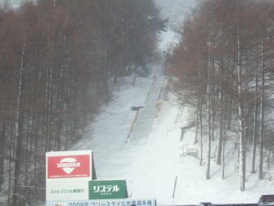 今シーズン初★スキー旅行★ リステル猪苗代? ~到着編~