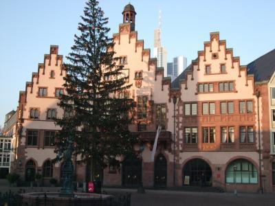 クリスマス風景の残る年末のドイツ【1】フランクフルト