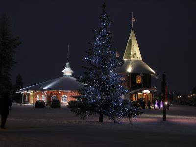 真っ暗なロシア・フィンランド・ラップランド15-Joulupukinpajakyla(サンタクロース村のクリスマス)