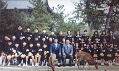 小学校の修学旅行 in 奈良