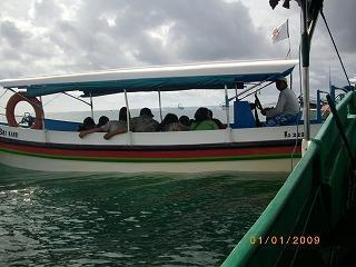 1木曜4日目1午前ヌサドゥアの海まで