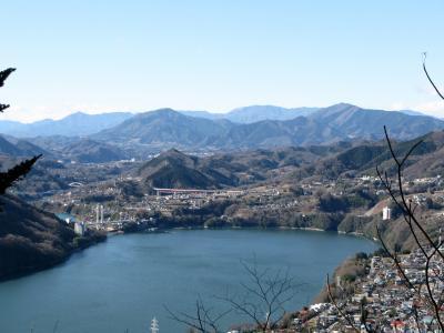 【近郊8】元旦の嵐山・津久井湖・城山湖