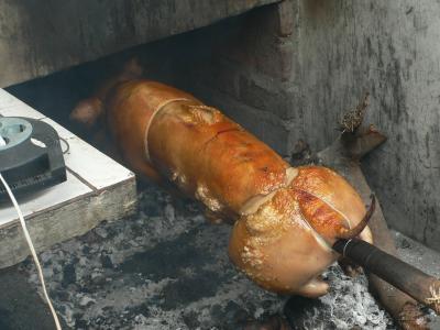 バリの伝統料理バビグリン!