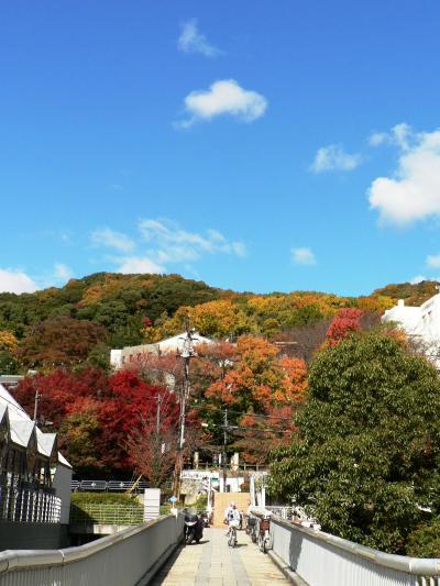 日本の旅 関西を歩く 池田市の五月山周辺の光景