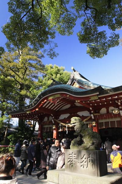 越谷久伊豆神社とレイクタウン