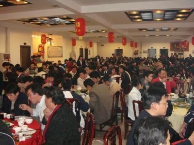 中国(広州)の忘年会2008