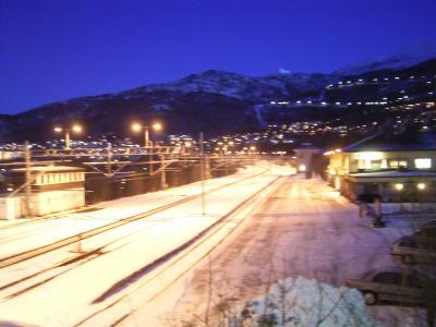 冬の北欧旅行記8 ナルヴィーク市街
